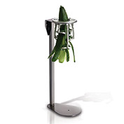 """Tellier EP003 - Upright Vegetable Peeler, Steel Stand,8-11/16""""L x 6""""W x 19-1/4""""H"""