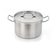 "Homichef HOM476038 - Sauce Pot, Stainless Steel With Aluminum Core, 23-3/4"" Dia."