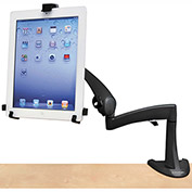 "Ergotron® Neo-Flex Desk Mount Tablet Arm, Up to 10"" Tablet, Black"