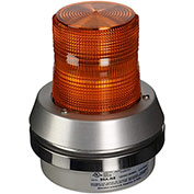 Edwards Signaling 95A-N5 Xenon Strobe With Horn Amber 120V AC