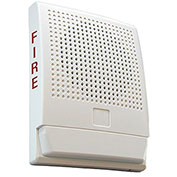 Edwards Signaling, EG4F-S7, Wall Speaker 70 V, White, Marked Fire