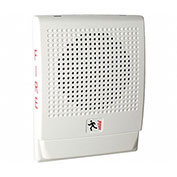 Edwards Signaling, EG4F-S7VM, Wall Speaker, Strobe, 70 V, White, Marked Fire