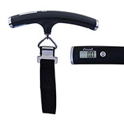 Digital Luggage Scale 110lb x 0.2lb/50kg x 0.1kg With Auto Shut Off Black