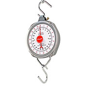 Hanging Scale 220lb x 1lb / 100kg x 0.5kg With 2 Steel S Hooks