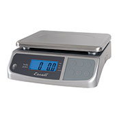 Escali M3315 M-Series Digital Kitchen Scale, 33lb x 0.2oz/15kg x 5g, Stainless Steel