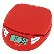 Digital Kitchen Scale 11lb x 0.1oz/5000g x 1g Red
