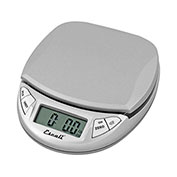 Escali N115S Pico Pocket Digital Kitchen Scale, 11lb x 0.1oz/5000g x 1g, Silver