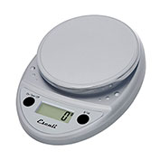 Escali P115C Primo Digital Kitchen Scale, 11lb x 0.1oz/5000g x 1g, Chrome