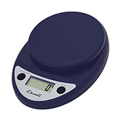 Digital Kitchen Scale 11lb x 0.1oz/5000g x 1g Royal Blue