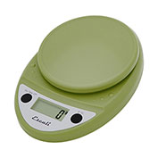 Escali P115TG Primo Digital Kitchen Scale, 11lb x 0.1oz/5000g x 1g, Green