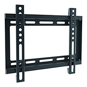 "Ergotech Slim Fixed Wall Mount for 23""-42"" Flat Panel TVs - Black"