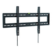 "Ergotech Slim Fixed Wall Mount for 37""-70"" Curved and Flat Panel TVs - Black"