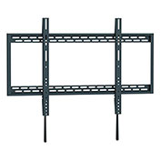 "Ergotech XL Heavy-Duty Fixed Wall Mount for 60""-100"" Curved and Flat Panel TVs - Black"