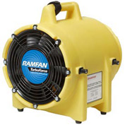 "Ramfan 8"" Confined Space Blower Model UB20 1/3 HP 980 CFM"