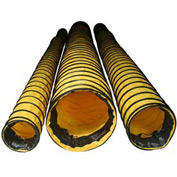 """EckoFlex 16"""" Standard Duct - Yellow, 25'L with Strap FDT1625BR"""
