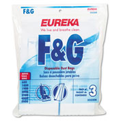 Style F & G Disposable Dust Bags for Upright Vacuums, 3/Pack, 18/Case - EUR52320D6
