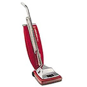 Sanitaire® Quick Kleen® Commercial Vacuum W/ Vibra-Groom II, Red - EUKSC886E