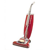 "Sanitaire® 16"" Quick Kleen Wide Track Vacuum W/ Vibra-Groomer, Red - EUK899"