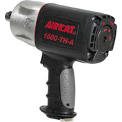 """AIRCAT® 1600-TH-A 3/4"""" """"Super Duty"""" Impact Wrench 4,500 BPM Composite Twin Hammer"""