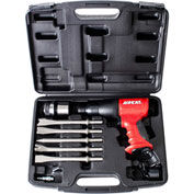 AIRCAT® 5100-A  Air Hammer Short Barrel W/ 5-Piece Chisel Blow Mold Kit