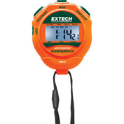Extech 365515 Stopwatch/Clock W/Backlit Display, Green/Orange