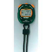 Extech 365535 Decimal Stopwatch/Clock, Green/Orange