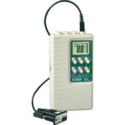 Extech 380340 Battery Operated Datalogger, White/Green