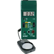 "Extech 401025-NIST Foot Candle/Lux Light Meter, Battery, 1.2""W, NIST Certified NIST Certified"