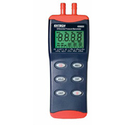 Extech 406800-NIST Differential Pressure Manometer, Digital NIST Certified