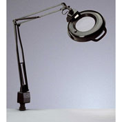 "Electrix 7121 3-Diopter Lens Fluorescent Magnifier W/Clamp-On, 45"" Reach, 120V, 22W"