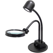 Electrix 7311 Portable LED Inspection Lamp W/3-Diopter Magnifier Lens, 120V, 7W, 525 Lumens