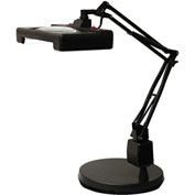 "Electrix 7460 3-Diopter Wide View Illuminated LED Magnifier W/Weighted Base, 30"" Reach, 120V"
