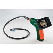 Extech BR100 Video Borescope Inspection Camera, Green/Orange