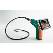 Extech BR250 Video Borescope/Wireless Inspection Camera, Green/Orange, AA Battery