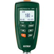 Extech CG204 Coating Thickness Tester, Green/Orange, Case Included