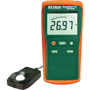 "Extech EA31-NIST Light Meter, Battery, 1.4""W, NIST Certified NIST Certified"