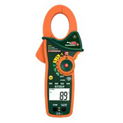 Extech EX840 True RMS Clamp/DMM & IR Thermometer, Orange/Green