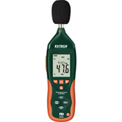 Extech HD600 Datalogging Sound Level Meter, Plastic, 9V battery, Case Included