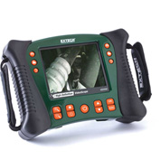 Extech HDV600 High Definition Videoscope Inspection Camera, Green/Orange, Case Included