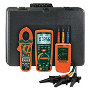 Extech MG300-MTK Motor & Drive Troubleshooting Kit, Orange/Green, Case Included, AC Capable
