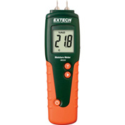 "Extech MO220 Wood Moisture Meter Auto Calibration, Replaceable Sensor Tips, 0.3""L"