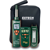 Extech MO280-KW Water Damage Restoration Kit, Case Included, Moisture Detector