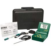 Extech OYSTER-16 Oyster pH/mV/Temperature Meter Kit, Electrode