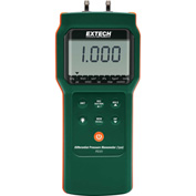 Extech PS101-NIST Differential Pressure Manometer, Digital, 7 oz. NIST Certified