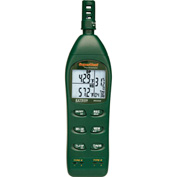 Extech RH350-NIST Dual Input Hygro-Thermometer Psychrometer, Case Included NIST Certified