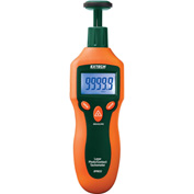 Extech RPM33-NIST Combination Contact/Laser Photo Tachometer, Contact, Non Contact NIST Certified