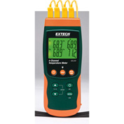 Extech SDL200 Datalogging Thermometer, Green/Orange, Case Included