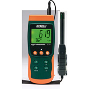 Extech SDL500 Hygro-thermometer/Datalogger, Orange/Green, Case Included