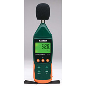 Extech SDL600 Sound Level Meter/Datalogger, Plastic, 6 AA batteries, Case Included