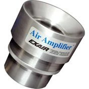 Exair 6030,  Adjustable Air Amplifier Only, 3/4 In., Stainless Steel